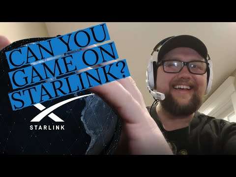 Can You Game on STARLINK INTERNET? (speed test, Gaming)