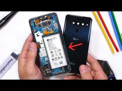 LG G8 Teardown - Dont Remove The Battery?!