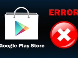 Грешки в Google Play Store ERROR