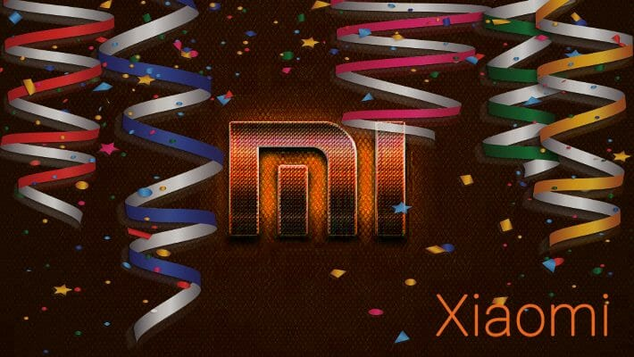 Happy Birthday Xiaomi 10 years
