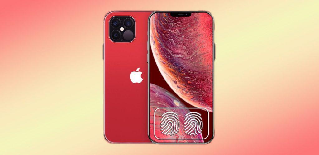 iPhone 12 Touch ID fingerprint qualcomm 3d sonic max