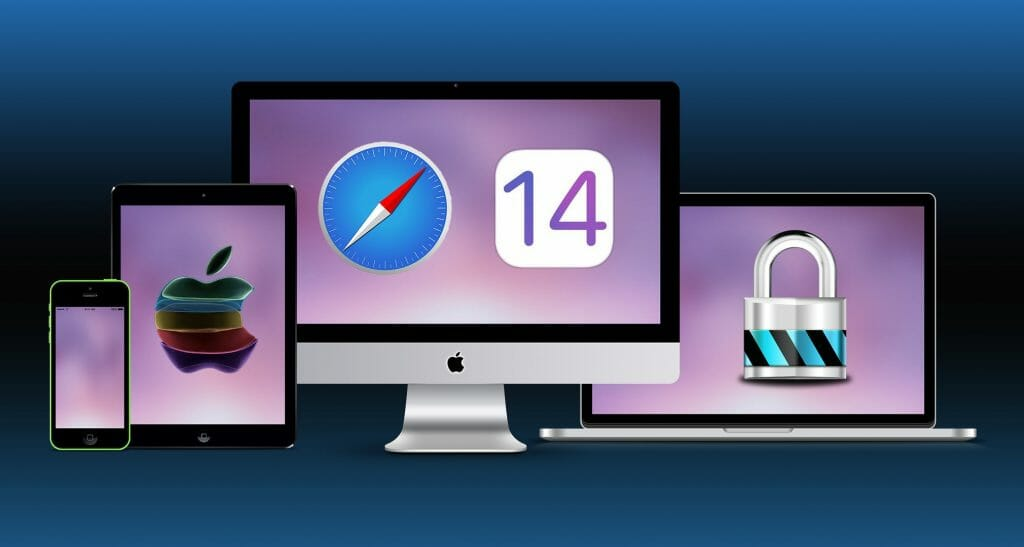 Safari 14 secure face ID Touch ID