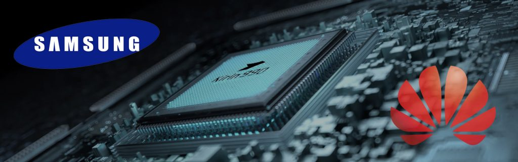 samsung huawei semiconductor chip kirin