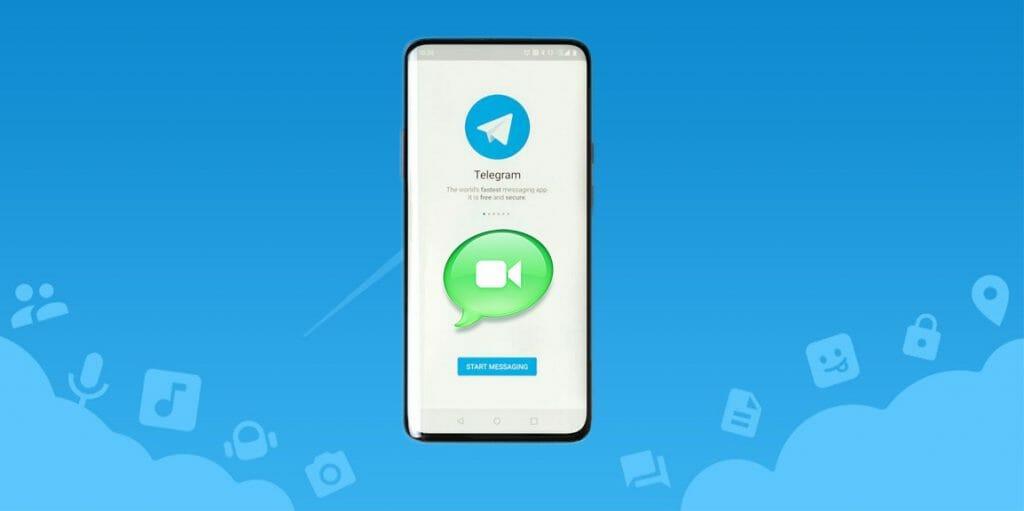 telegram video call разговори