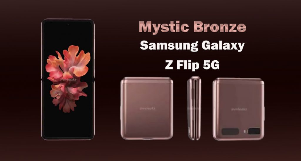 Galaxy Z Flip 5G в цвят Mystic Bronze