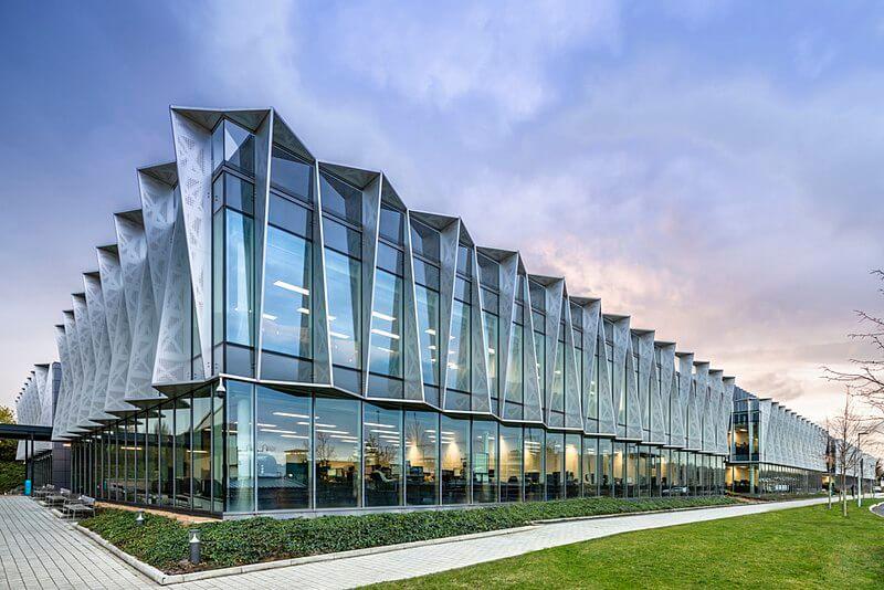 Кампусът на ARM Holding в Кеймбридж campus