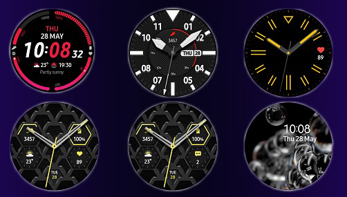 Samsung Galaxy Watch 3 watchfaces циферблати