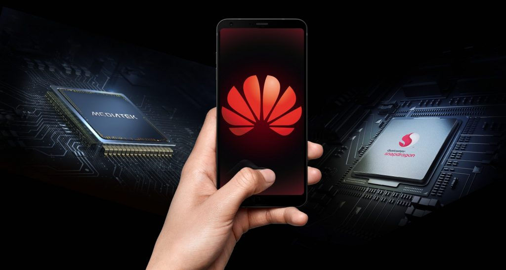 huawei chip mediatek snapdragon qualcomm