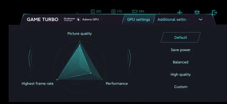 Xiaomi Mi 10 Pro Plus - Game Turbo - настройки