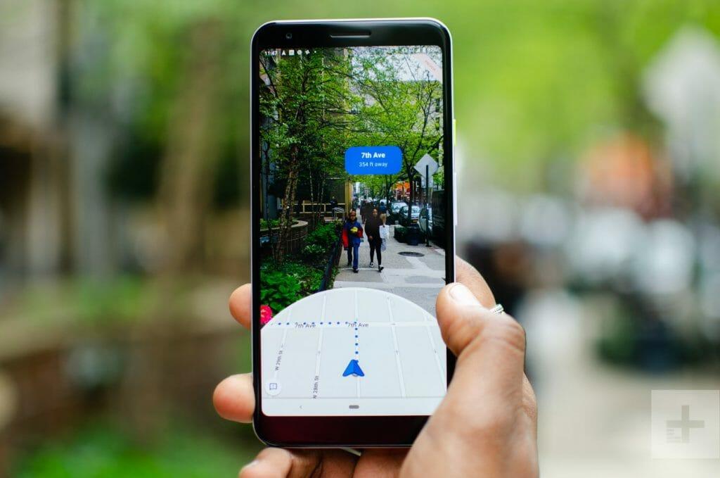AR mode google maps