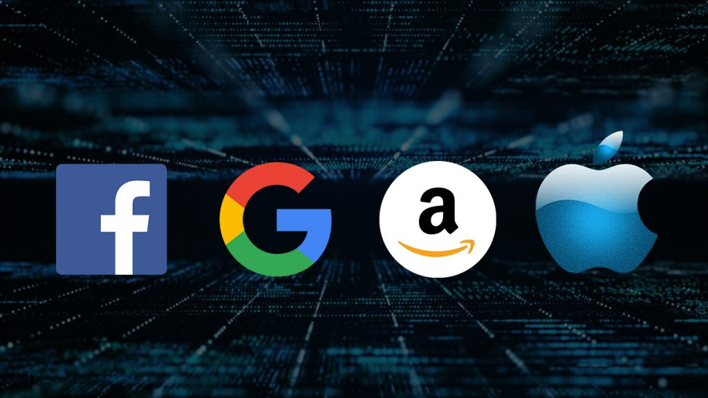 Amazon Google Facebook Apple