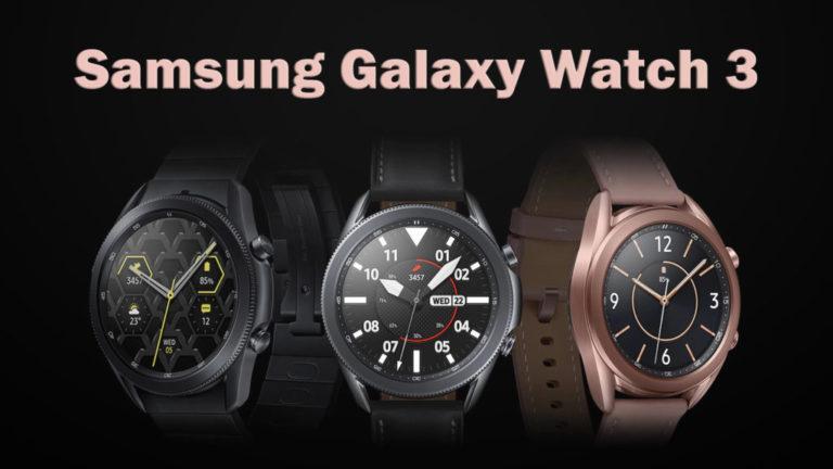 Samsung Galaxy Watch 3 - характеристики и цена