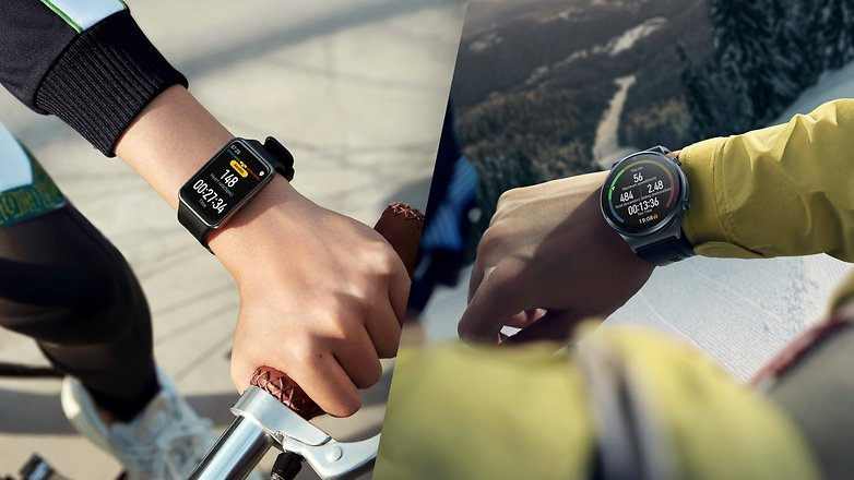 Huawei Watch Fit  и Watch GT 2