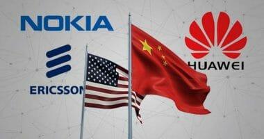 5G Австралия китайски компании