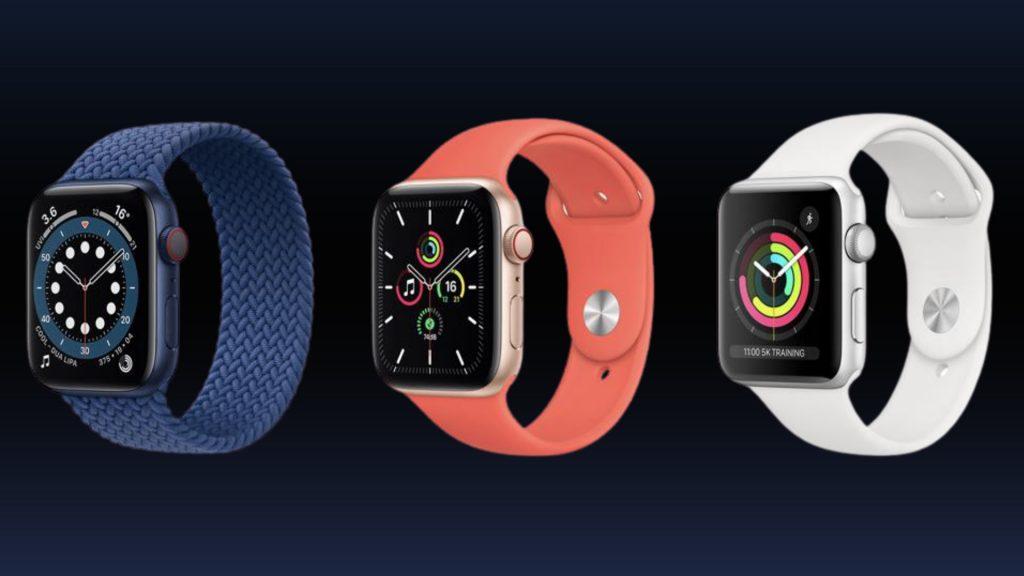 Apple Watch Series 6 vs. Watch SE vs. Watch 3
