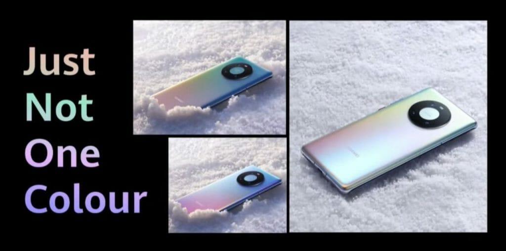Huawei Mate 40 в цвят Mystic Silver