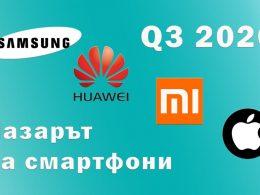 Smartphone market 2020 Q3