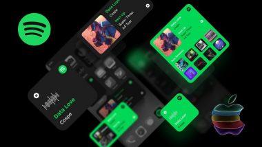 widget на spotify за iOS 14