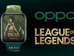 OPPO Watch League of Legends