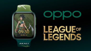 OPPO Watch League of Legends