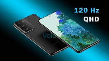 Samsung Galaxy S21 Ultra 120Hz QHD
