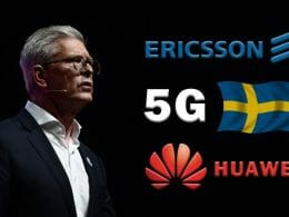 Ekholm Sweden-5G-Huawei