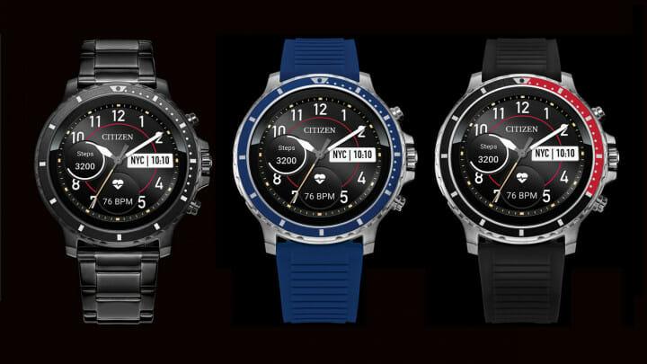 Citizen реализираха първия си смарт часовник CZ Smart с Wear OS на Google