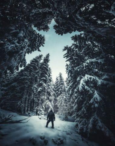 Зимна приказка от Витоша, заснета със Samsung Galaxy S20 Ultra, от фотографа Krasi St. Matarov