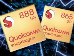 Snapdragon 888 vs snapdragon 865