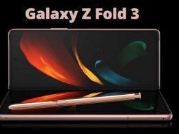 Galaxy Z Fold 3 цена