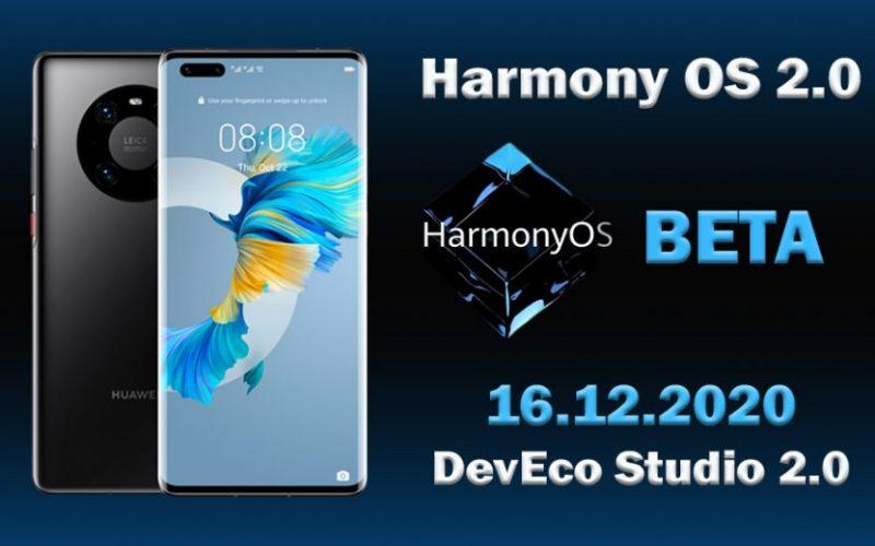 Mate-40- Harmony OS Beta