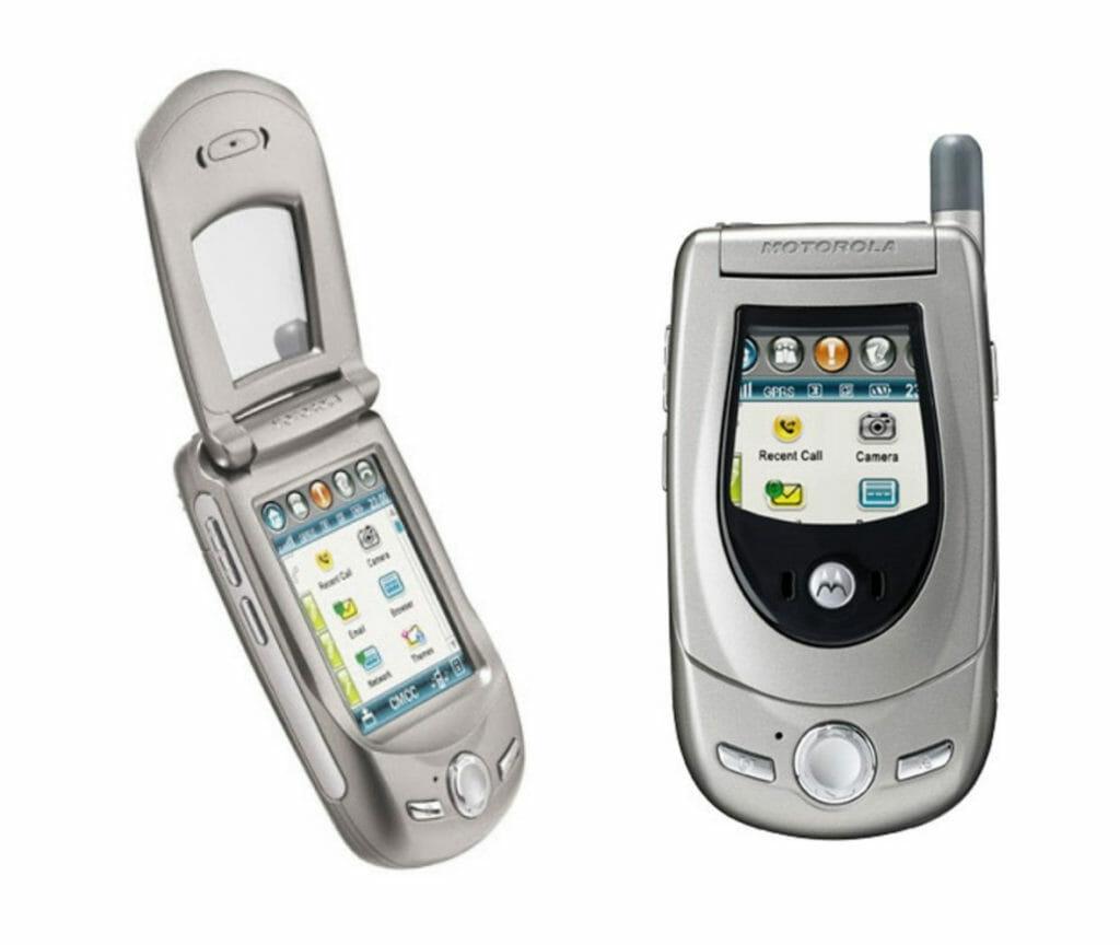 Motorola A760 (2003)