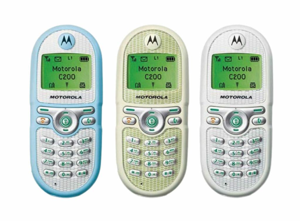 Motorola C200 (2003)