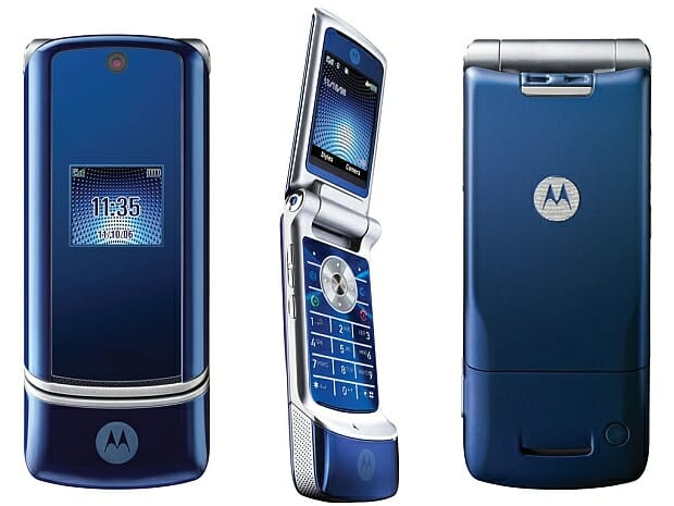 Motorola Krzr K1 (2006)