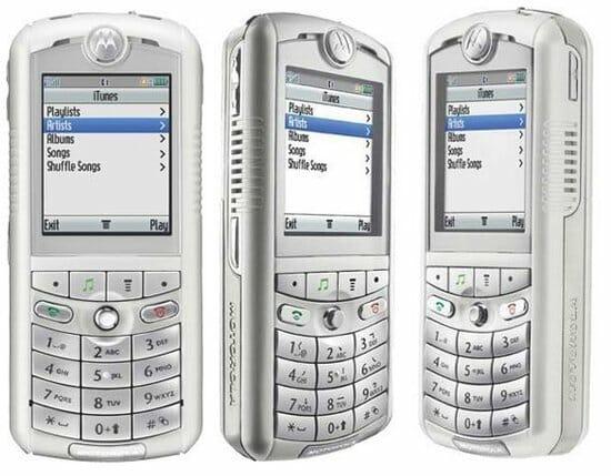Motorola ROKR E1 (d2005)