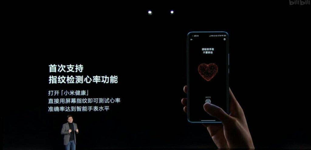 Xiaomi Mi 11 разполага с оптичен скенер за пръстови отпечатъци под дисплея, произведен от китайския доставчик Goodix. Той е изключително тънък, за да бъде постигната само 8,06мм дебелина на телефона.