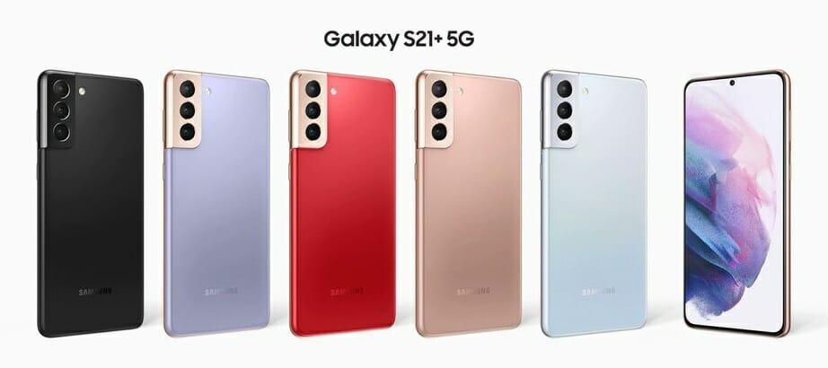 Цветове на Galaxy S21 Plus