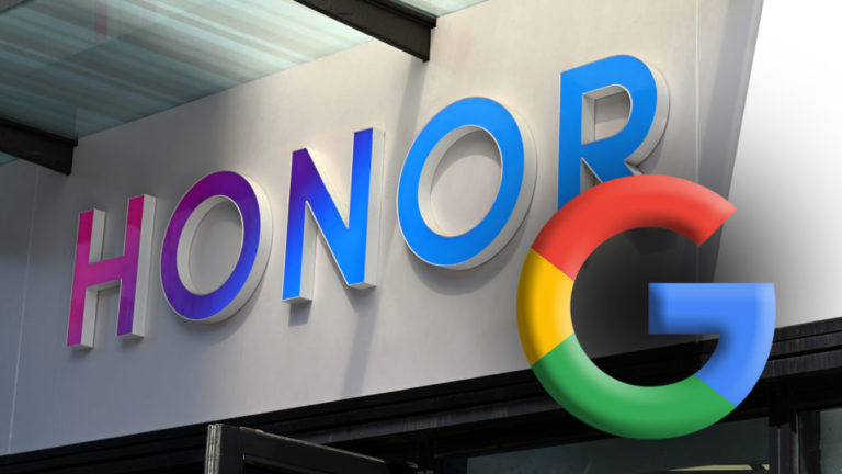 Honor получават Google mobile services