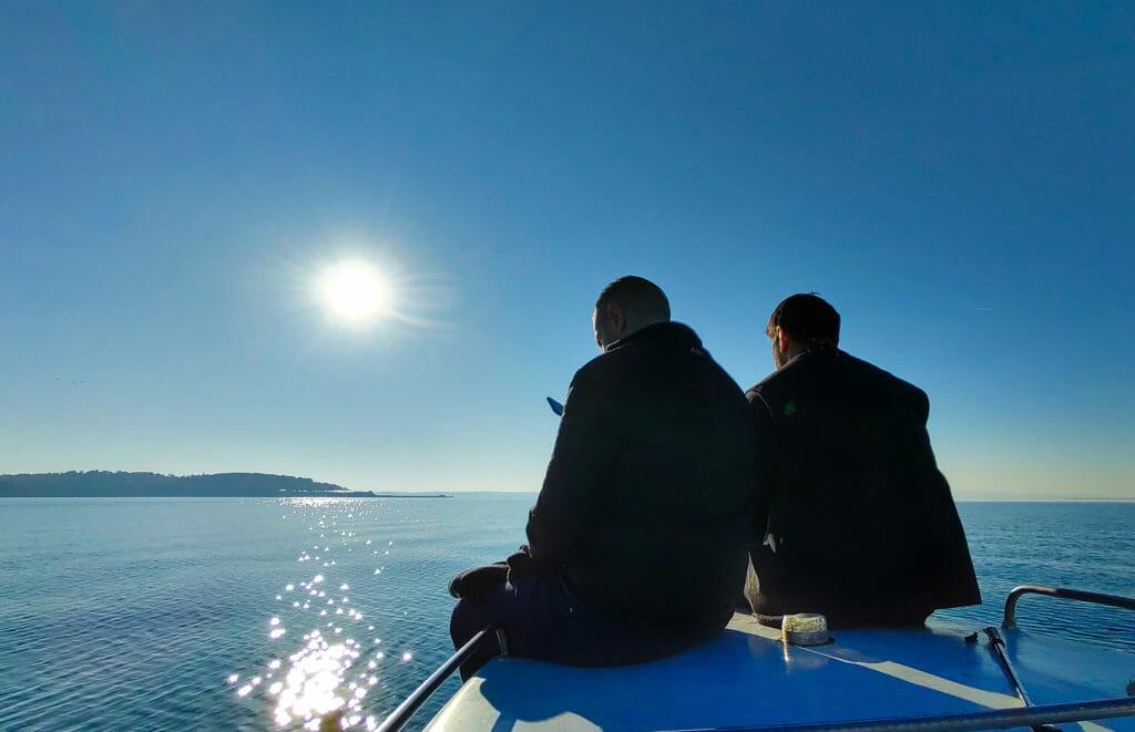 Остров Света Анастасия - моблна фотография на Росен Илиев, заснета с Motorola One Zoom.