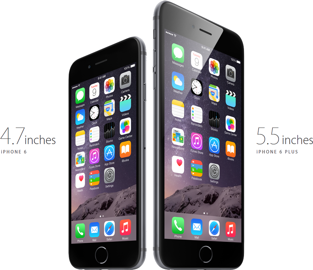 Phone 6 & 6 Plus (2014)