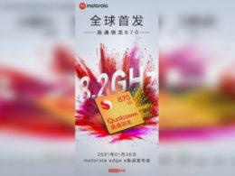 Motorola Edge S - Snapdragon 870