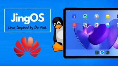 Ще замени ли JingOS (вдъхновена от iPadOS) и базирана на Linux Distro - HarmonyOS на таблетите и телефоните на Huawei?