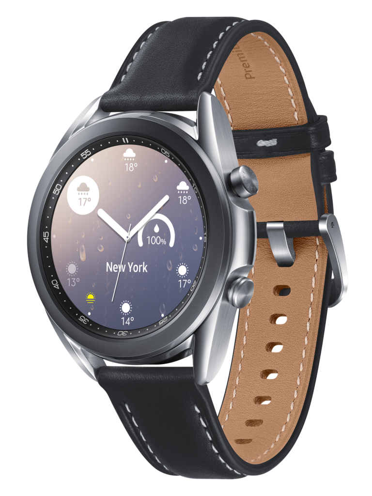 Часовник smartwatch Samsung Galaxy Watch 3, 41 мм, Silver - цена - купи