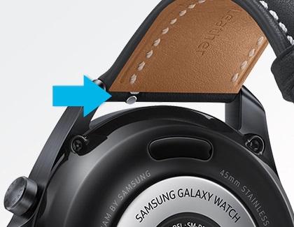 Смяна на каишките на Galaxy Watch Active 2 и Galaxy Watch 3