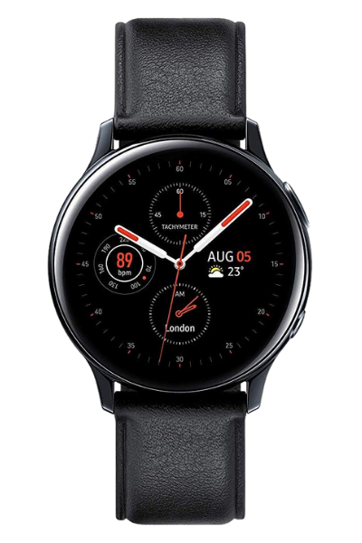 Часовник Smartwatch Samsung Galaxy Watch Active 2, 40 mm, Stainless steel – Black