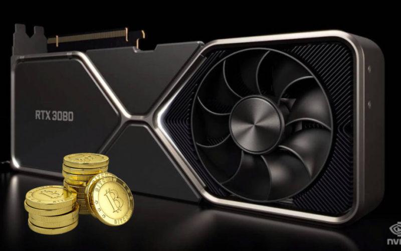 Nvidia ще изтеглят графичните карти от текущата линия RTX 3000, за да ги модифицират и ограничат да не се използват за копаене на криптовалути.
