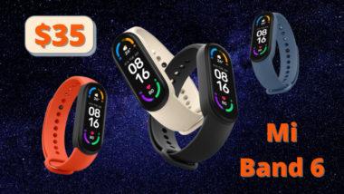 Xiaomi Mi Band 6 - характеристики и цена