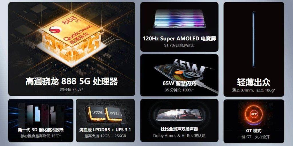 Realme GT 5G характеристики