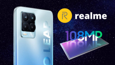 Realme 8 Pro - 108 MP Samsung ISOCELL HM2