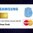 samsung and mastercard bank card-fingerprint-scanner-банкова-карта-скенер-пръстов-отпечатък